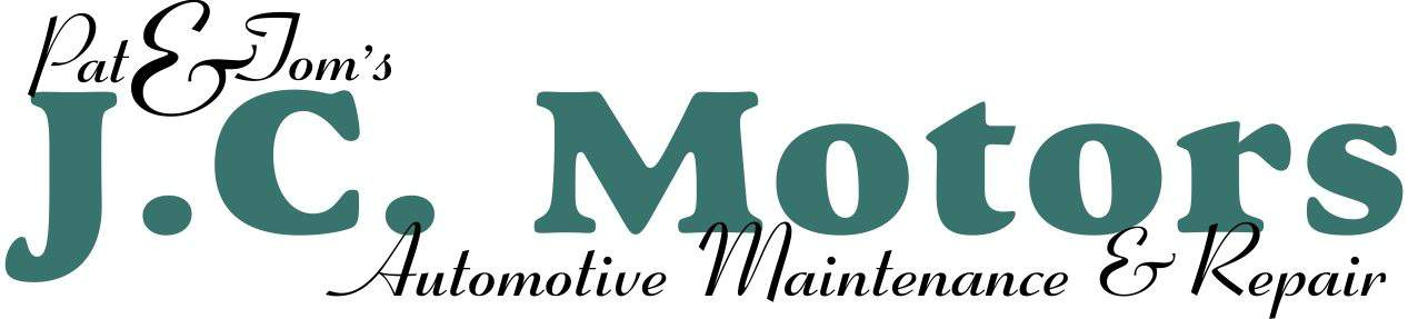 JC Motors Logo - Automotive Maintenance & Repair