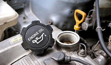 Engine oil checks